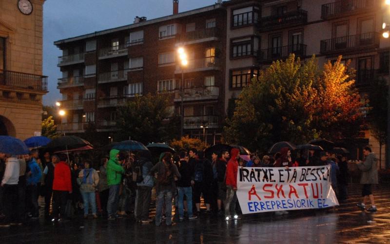 Iratxe Sorzabal manifestazioa