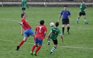 Hondarribia FE Aloña Mendi futbola