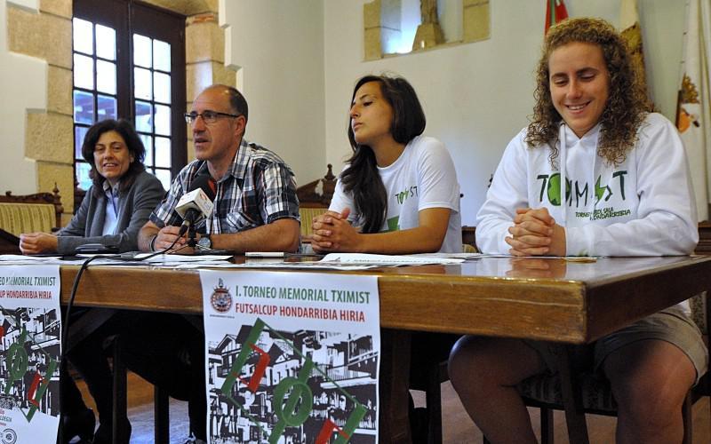 I. Tximist Memoriala Hondarribiko Hiria Futsal Txapelketa