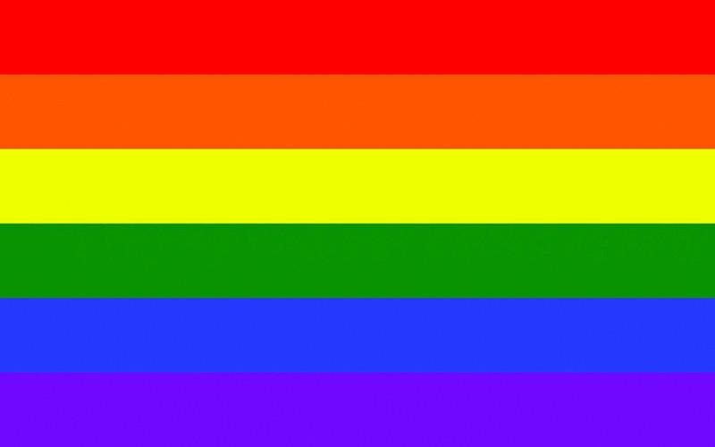 LGTB bandera.