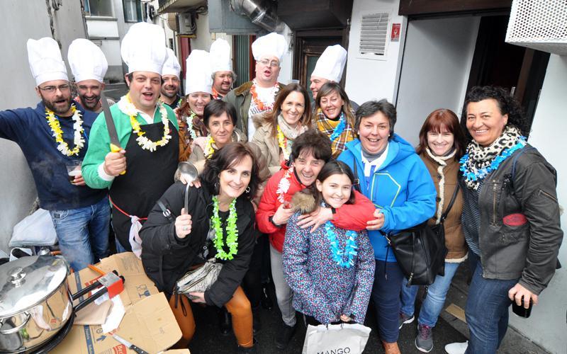 Hondarribiko herri olinpiadak gastronomia