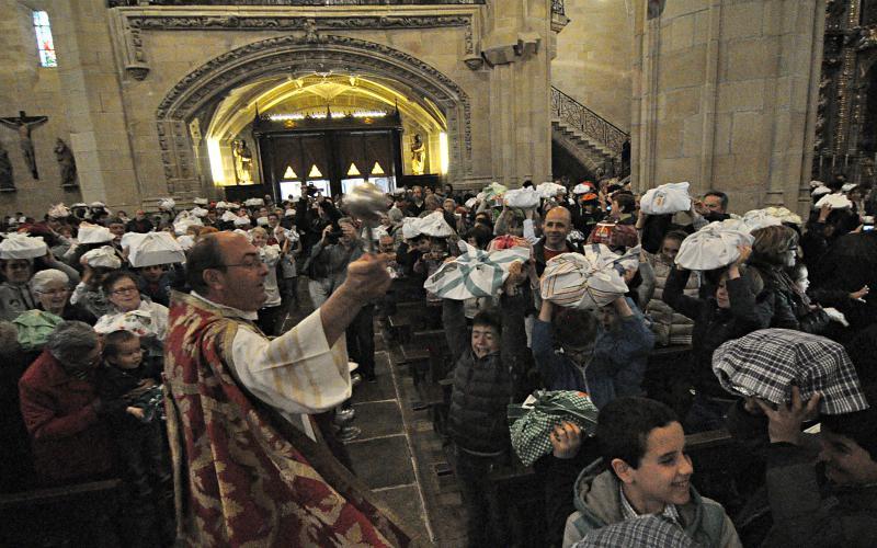 San Marko Eguna. Opilen bedeinkapena