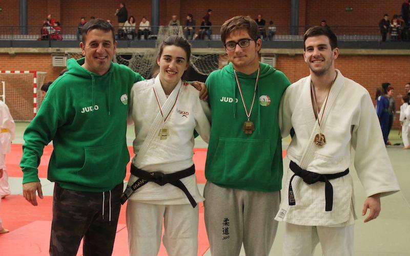 Maialen Ramos, Iker Otegi, Jon Pascual, Alberto Perez