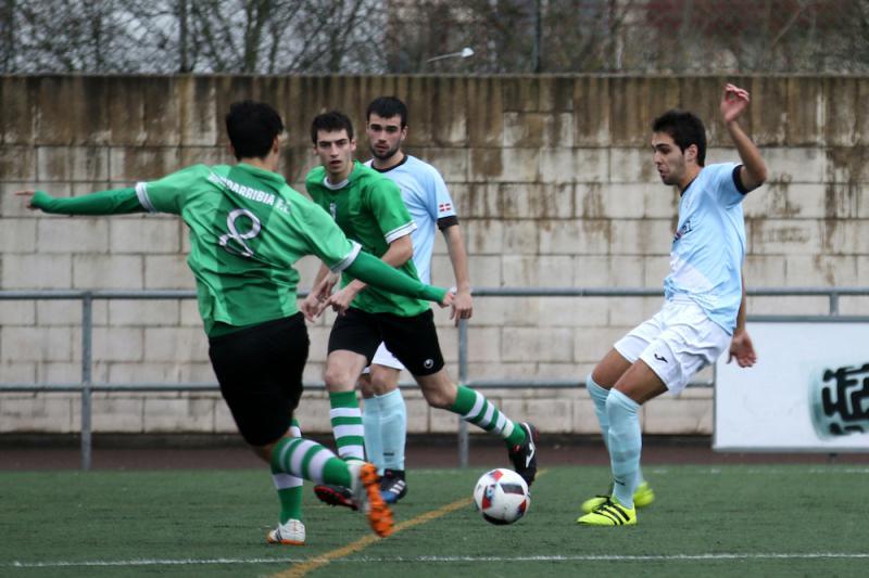 Aretxabaleta Hondarribia futbola