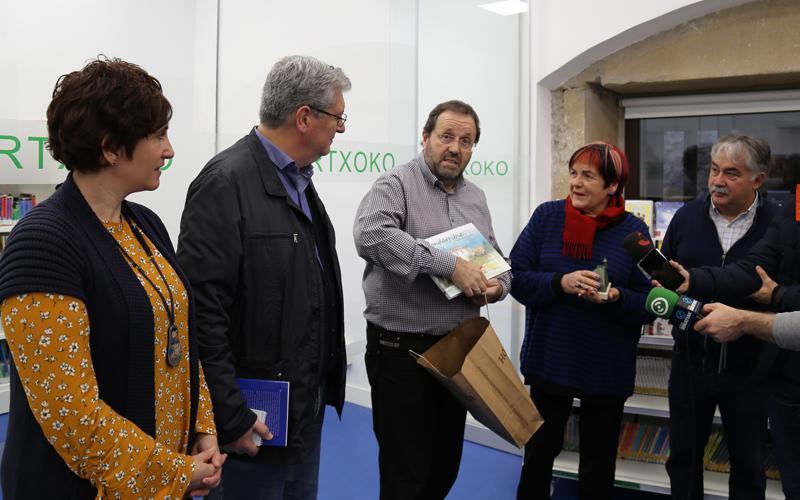 Aurkezpena liburu eta diska azoka 2018