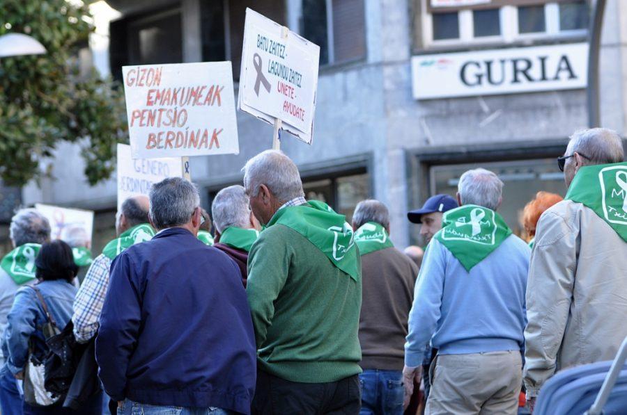 Pentsioen aldeko manifestazioa(1)
