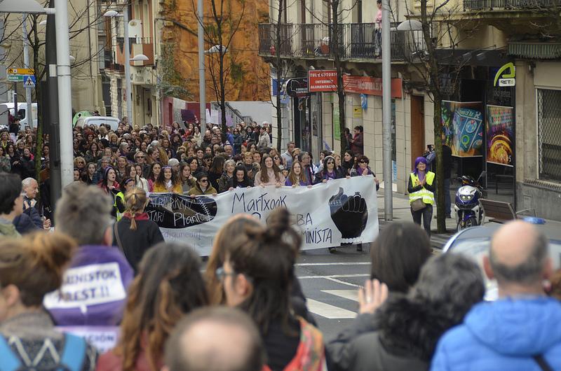 Eguerdiko manifestazioa