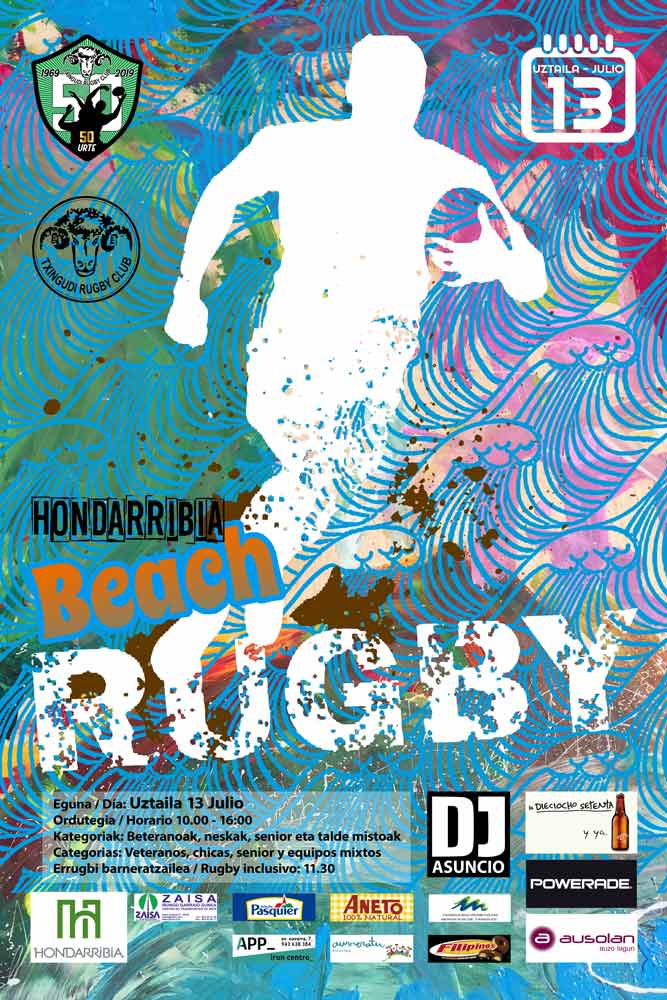Hondarribia Beach Rugby