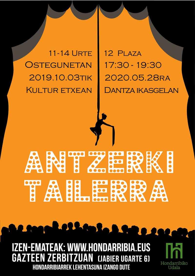 Antzerki tailerra 2019-2020