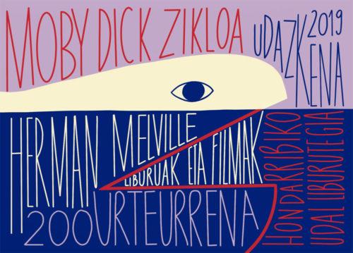 'Moby Dick' zikloaren kartela