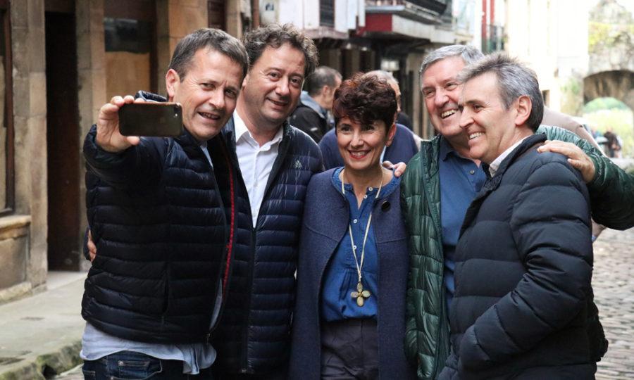 EAJko Espainiako Kongresurako eta Senaturako hautagaiak Hondarribian