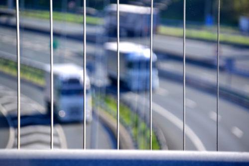 Kamioiak A8 autobidean
