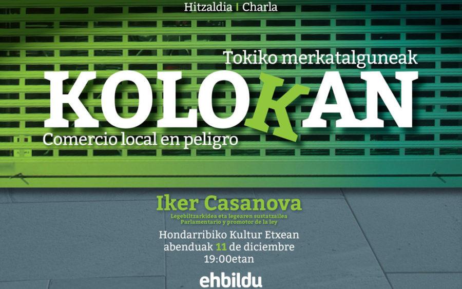 Tokiko merkataritzaren inguruko hitzaldia
