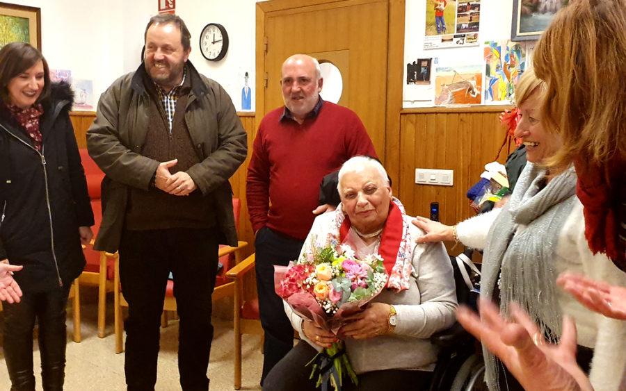 Maria Rubio hondarribiarrak 101 urte bete ditu.