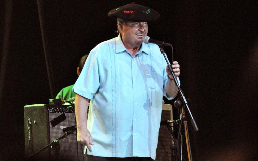 Charlie Baty gitarra jotzaileak 2017 Hondarribia Blues Festival saria jaso zuen.