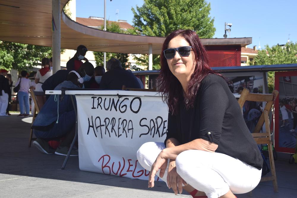 Mendigutxia, en la Plaza San Juan