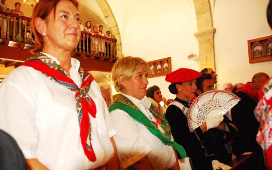 Jaizkibel konpainiak hamabost urtez bete du botoa Guadalupen [Irudia: Jaizkibel konpainia]