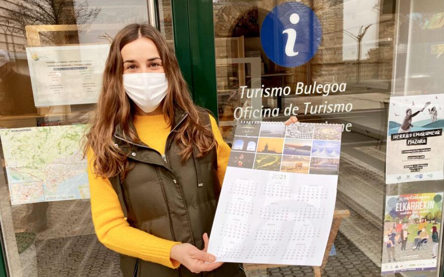 2021. urteko egutgeiaren aurkezpena egin du Maria Serrano zinegotziak.