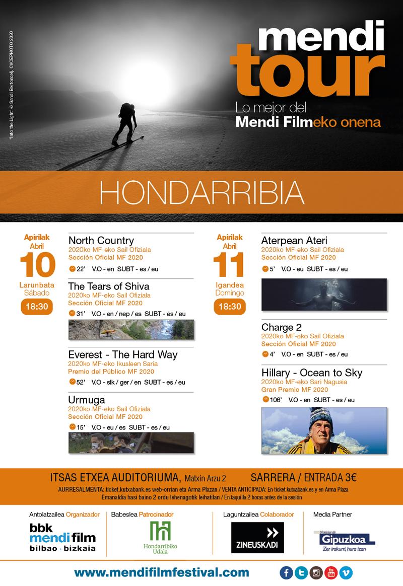 2021eko Mendi Tour jaialdiko kartela.