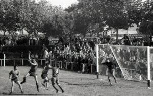Hondarribia Futbol ELkartea (HFE) 1970ko hamarkadan.