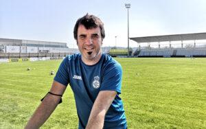 Aitor Zulakika Real Union taldeko entrenatzailea.