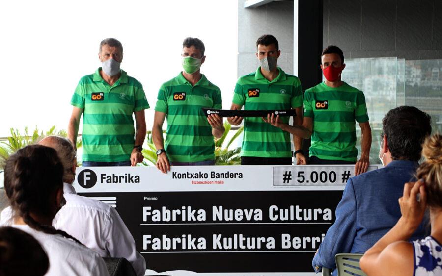 Fabrika Kultura Berria saria jaso dute berdeek gaur goizean.