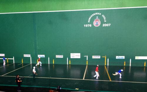 Hondarribia Grand Slam sariko finalerdiak.